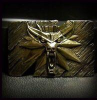 The Witcher 3 Wild Hunt Inspired Bronze Belt Buckle Handmade Fan Art