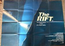 Jack Scalia  THE RIFT (1990) Original movie poster