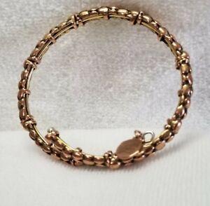 Alex and Ani  Vintage 66 Gold Beaded Stepping Stone Wrap Bracelet 🎃