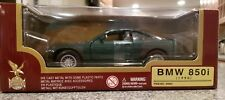 Road Legends 1990 BMW 850i  GREEN Die Cast Metal Car 1:24 #93029 NIB