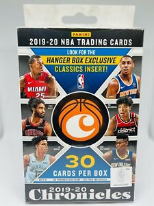 2019-20 Panini Chronicles Basketball Hanger Box Brand New Factory Sealed