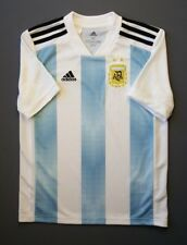 4.9/5 Argentina 2018 Football Soccer Home Jersey Shirt Kids M 11-12 Years Adidas