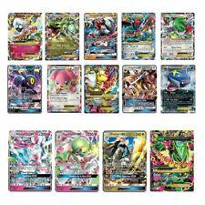 Lot de 20 Cartes Pokémon Française GX Brillante Rare Sans Double Neuve