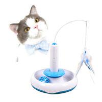 1pc Electric Rotate Interaktives Haustier-Katzenspielzeug für Kätzchen-Katzen
