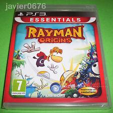 RAYMAN ORIGINS NUEVO PRECINTADO PAL ESPAÑA PLAYSTATION 3 PS3