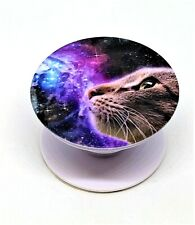 Cat in Space Cell Phone Holder w/Dashboard Clip Expandable Universal Quick Ship