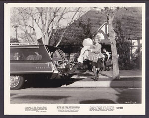 8x10 Photo~ WITH SIX YOU GET EGGROLL ~1968 ~Doris Day ~Brian Keith ~Loading car