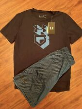 boys outfit size L, Large, Under Armour, Ua, Baseball, School, Athletic, Set