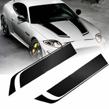 Car Truck Sticker Hood Window Racing Stripe Auto Graphic Decal Vinyl  85cm Black