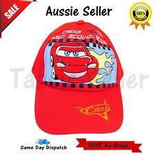 Disney Pixar Cars Lightning McQueen boys cap hat brand new cotton 4d3d69bfd5bd