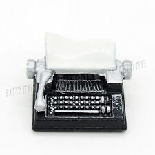 Vintage Typewriter Metal Simulation Miniature Dollhouse Antique Toy Decor Gift