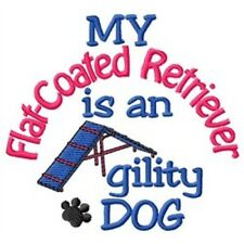 My Flat-Coated Retriever is An Agility Dog Short-Sleeved Tee - Dc1896L