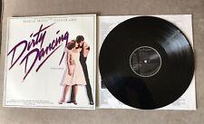 DIRTY DANCING Ronettes SWAYZE OST SOUNDTRACK RCA Inner BL 86 408 VINYL LP EX