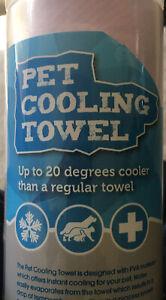 Pet Cooling Towel Blue