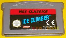ICE CLIMBER Game Boy Advance Gba Versione Europea »»»»» SOLO CARTUCCIA
