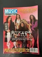 Vtg Music Connection Rock Magazine Mozart AC DC The Rembrandts