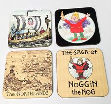 Noggin the Nog Drinks COASTER Set