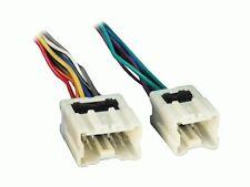 Radio Wiring Harness Adapter for Aftermarket Radio Installation (BIN #7550)