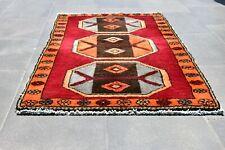 Doormat Rug, Home Decor, Turkish Vintage doormat, 2.1 x 3.7 Oushak Small rug