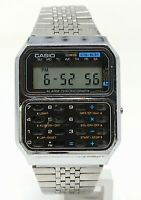 Orologio Casio CS-831 vintage watch calculator clock modulo 231 digital montre