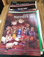 Cross Stitch Pattern Booklets: CHRISTMAS NATIVITY and INSPIRATIONAL
