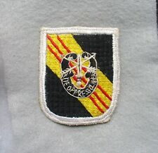 US ARMY 5th Special Forces Flash Patch In Country Made Vietnam Vet  items (W1)