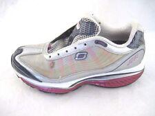Skechers Shape Ups 7M Resistance silver pink white womens ladies sneakers 12371