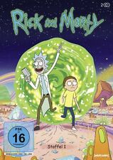 Rick & and Morty  Season 1 TV series first  R2/UK Justin Roiland DVD