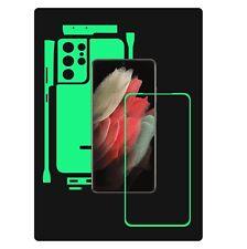 1+1 GIFT Skin,Carbon Vinyl,Full Body Clear Case Wrap,Samsung Galaxy S21 Ultra 5G