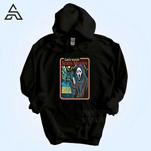 LET'S WATCH SCARY MOVIES Halloween Hoodie Sanderson Witch Gift for Friends 1732