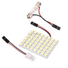 Car Interior LED 48SMD Panel T10 Dome Bulb BA9S Festoon Trailer Light White