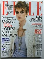 KEIRA KNIGHTLEY April 2005 ELLE Magazine ADRIEN BRODY