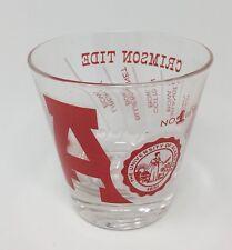 Vintage Alabama Crimson Tide 1961 National Championship Glass #1 in '61