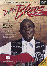 Delta Blues Guitar Featuring Honeyboy Edwards Learn to Play Guitar Music DVD