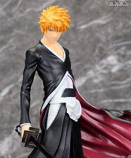 Anime Bleach Kurosaki Ichigo PVC Figure GK 卍 lock Zangetsu Gift Toys With Box