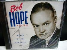 Bob Hope & Friends thanks for the Memories Cd 13 tracks Bing Crosby + shrink new