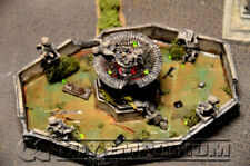 Pro Built 1:32 Deluxe LIGHTED Battle Damaged Fountain!
