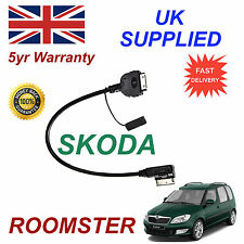 Genuine SKODA ROOMSTER MMI AZO800001 iPhone 3gs 4 4s iPod Cable replacement