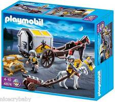 New Playmobil Lion Knights' Treasure Transport the King's 4874 Free SHIPPING!