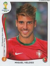 N°517 MIGUEL VELOSO # PORTUGAL STICKER PANINI WORLD CUP BRAZIL 2014