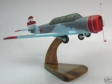 Yak-52 Yakovlev Yak52 Private Airplane Desk Wood Model Small New