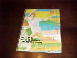 1973 46th US Professional Tennis Championships Program