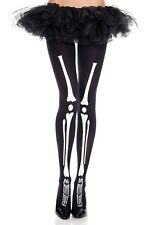 Increíble impresión Esqueleto Negro Medias 70 Denier Halloween Esqueleto Huesos de rayos X