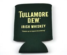 Tullamore Dew Whiskey USA Koozie Can Bottles Cooling Fan Insulation Green