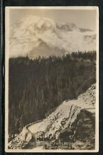 Mount Ranier National Park WA Inspiration Point Real Photo Used 1925 b525