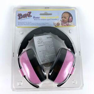 Baby Banz Hear No Blare Earmuffs Petal Pink Ages 0 - 2 Years