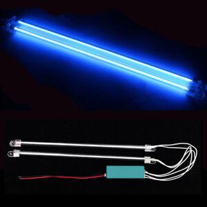 "2Pcs 12"" Car Blue Undercar Underbody Neon Kit Lights CCFL Cold Cathode Tube"
