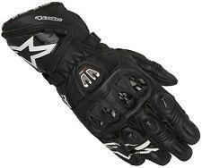 Alpinestars GP PRO R2 Black Glove Leather Motorcycle Race Gloves