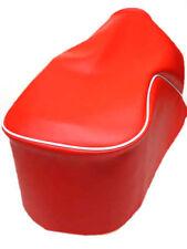 Selle e copriselle da moto rosso