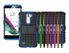 HEAVY DUTY TOUGH SHOCKPROOF WITH STAND HARD CASE COVER FOR LG K8